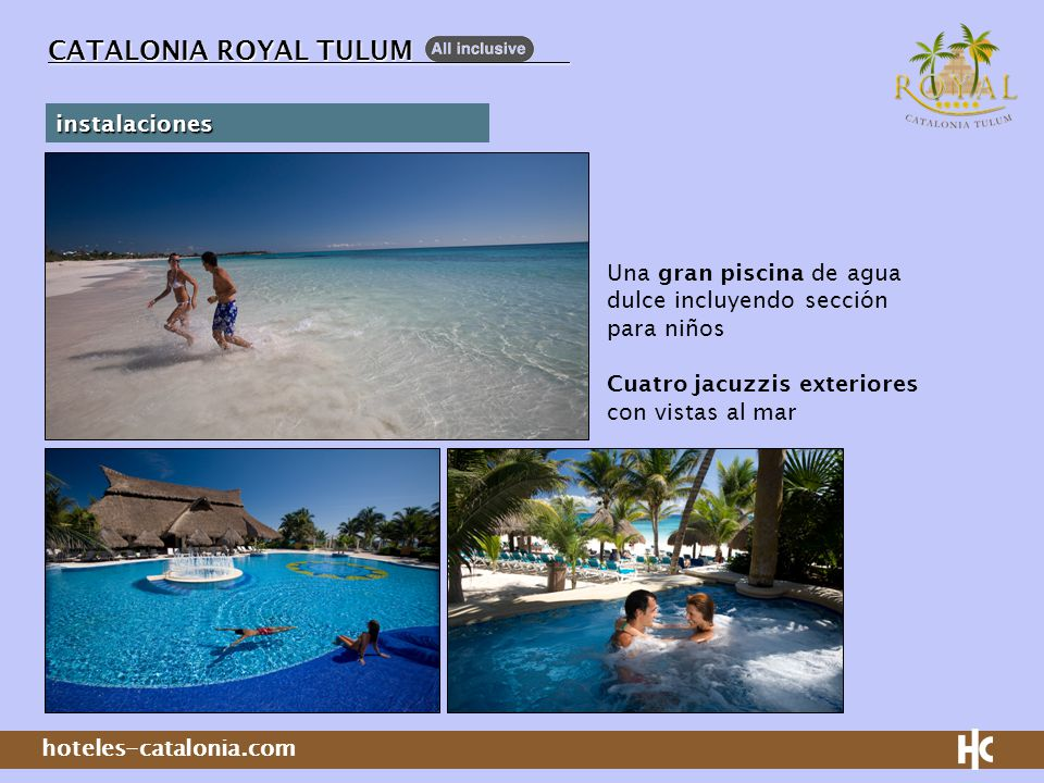 CATALONIA ROYAL TULUM instalaciones