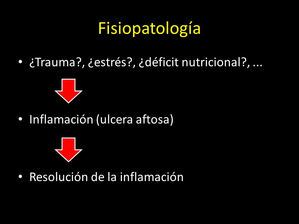 Fisiopatología ¿Trauma , ¿estrés , ¿déficit nutricional , ...