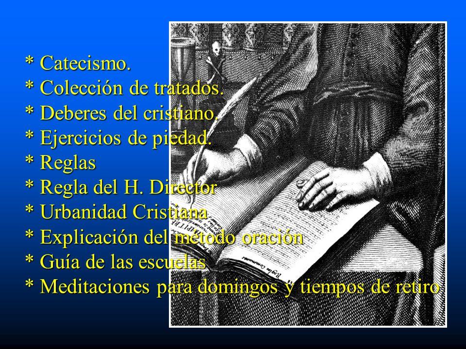 Catecismo. Colección de tratados. Deberes del cristiano