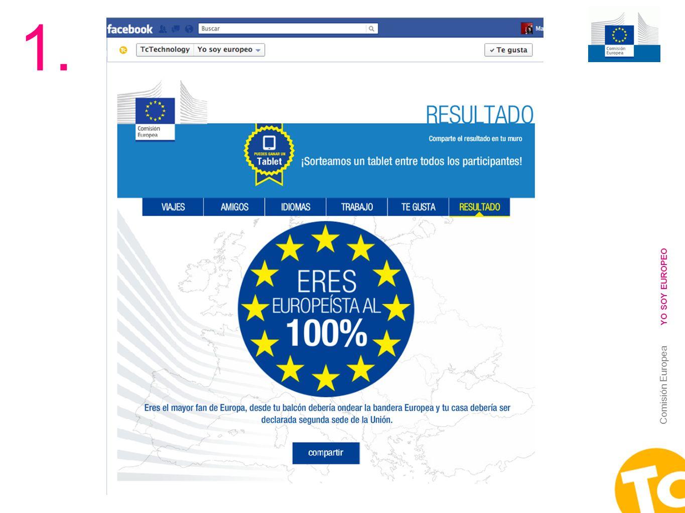 1. YO SOY EUROPEO Comisión Europea