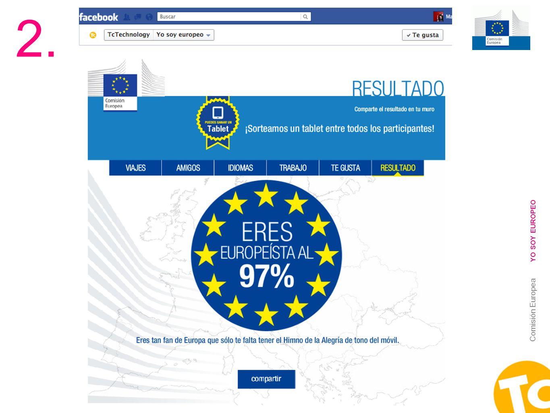 2. YO SOY EUROPEO Comisión Europea
