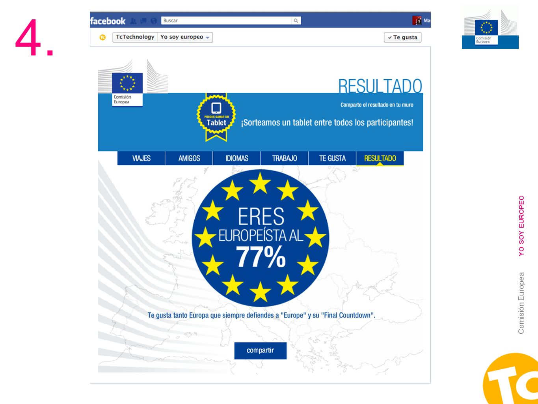4. YO SOY EUROPEO Comisión Europea