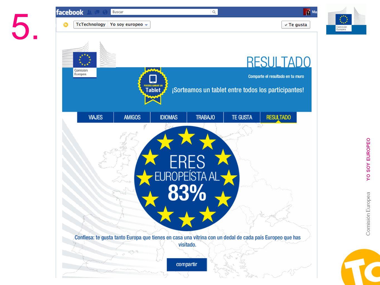 5. YO SOY EUROPEO Comisión Europea