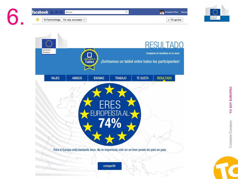 6. YO SOY EUROPEO Comisión Europea