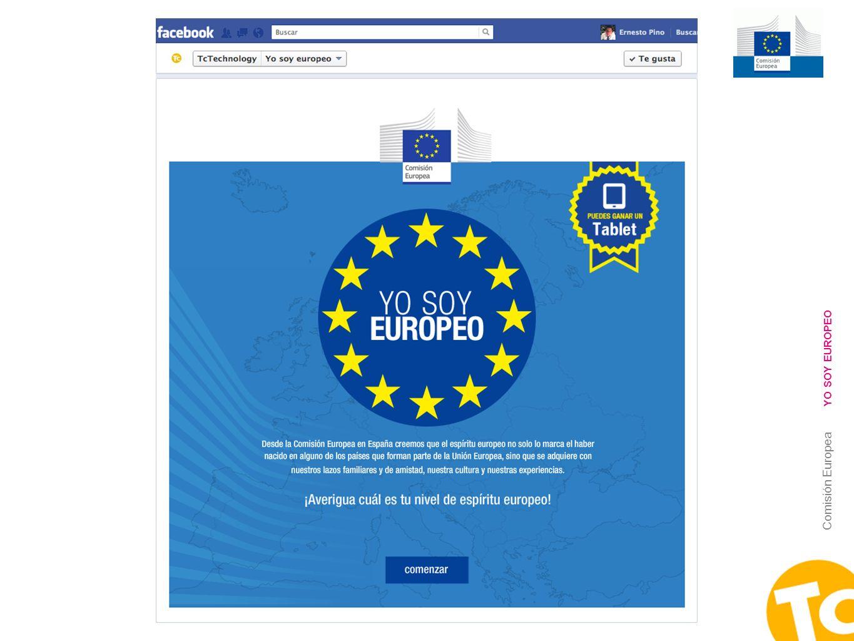 YO SOY EUROPEO Comisión Europea