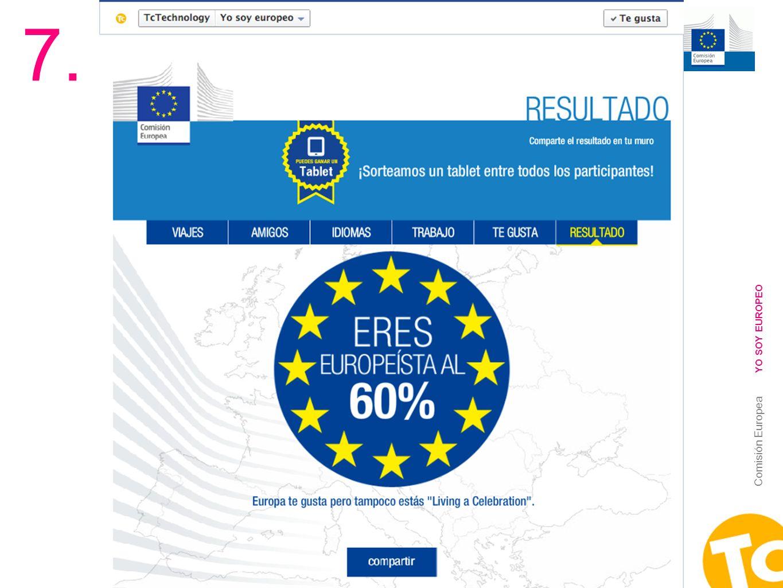 7. YO SOY EUROPEO Comisión Europea