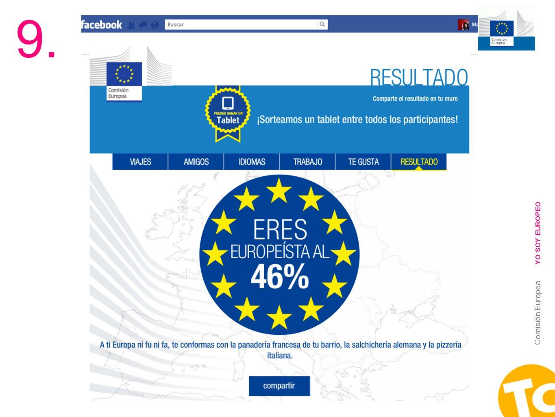 9. YO SOY EUROPEO Comisión Europea