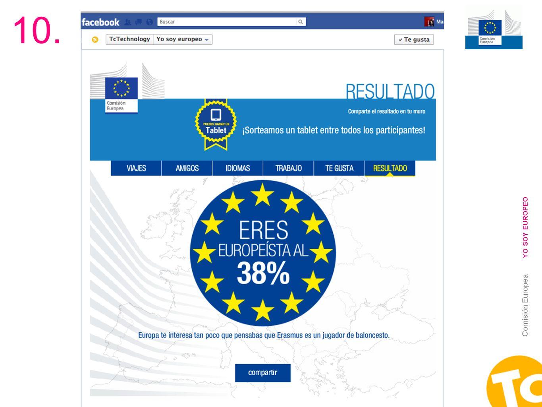 10. YO SOY EUROPEO Comisión Europea