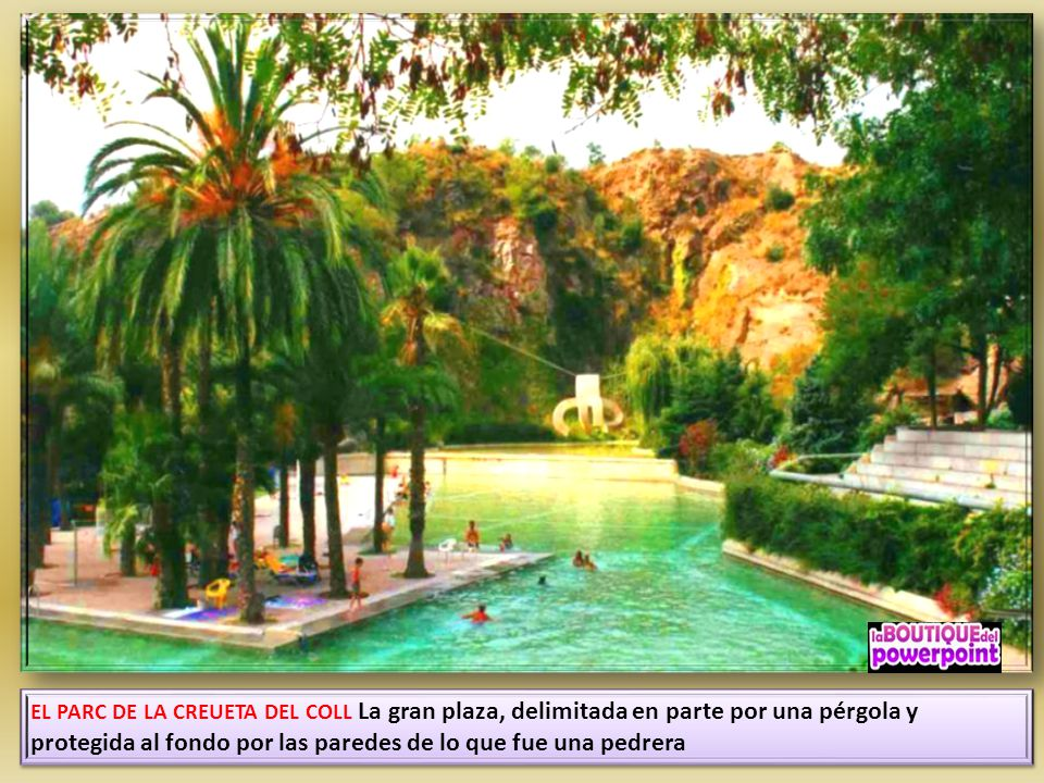 Gr cia 2 districte municipal ppt descargar for Piscina creueta del coll