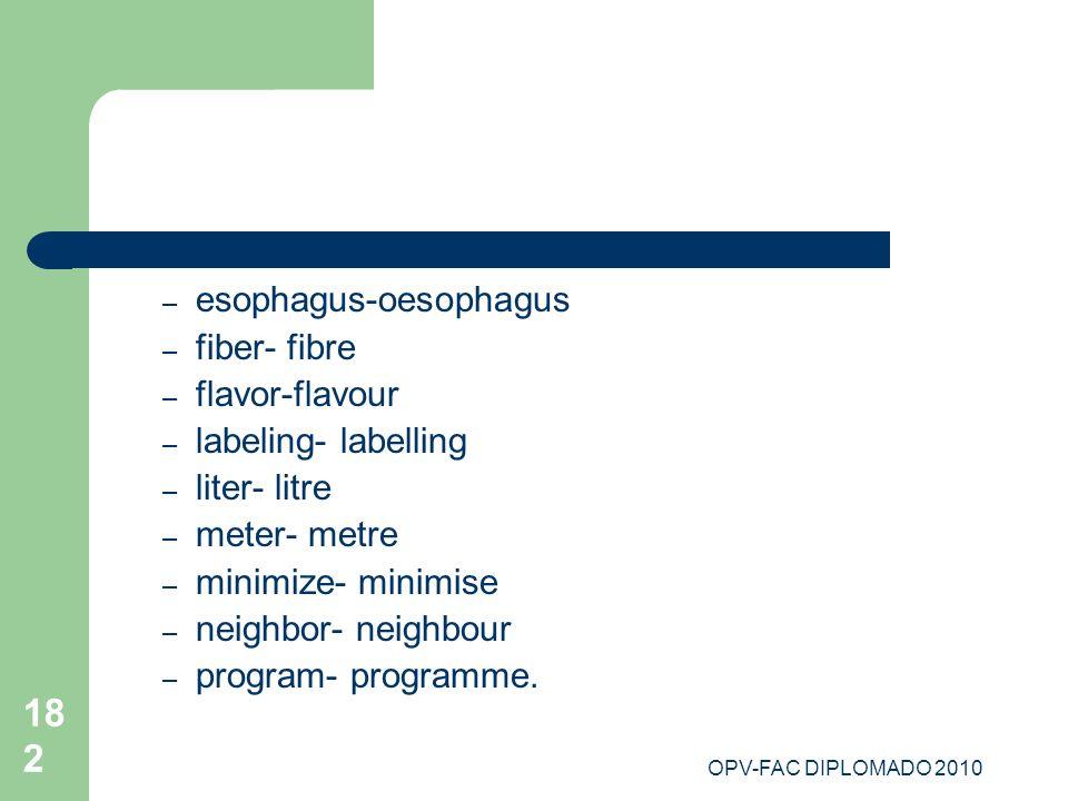 esophagus-oesophagus fiber- fibre flavor-flavour labeling- labelling