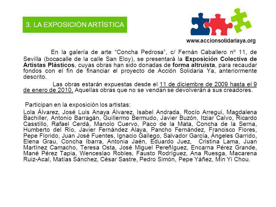 3. LA EXPOSICIÓN ARTÍSTICA