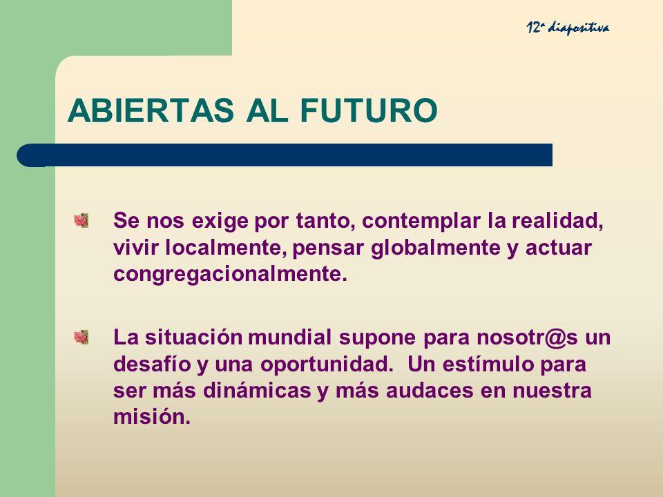 12a diapositiva ABIERTAS AL FUTURO.