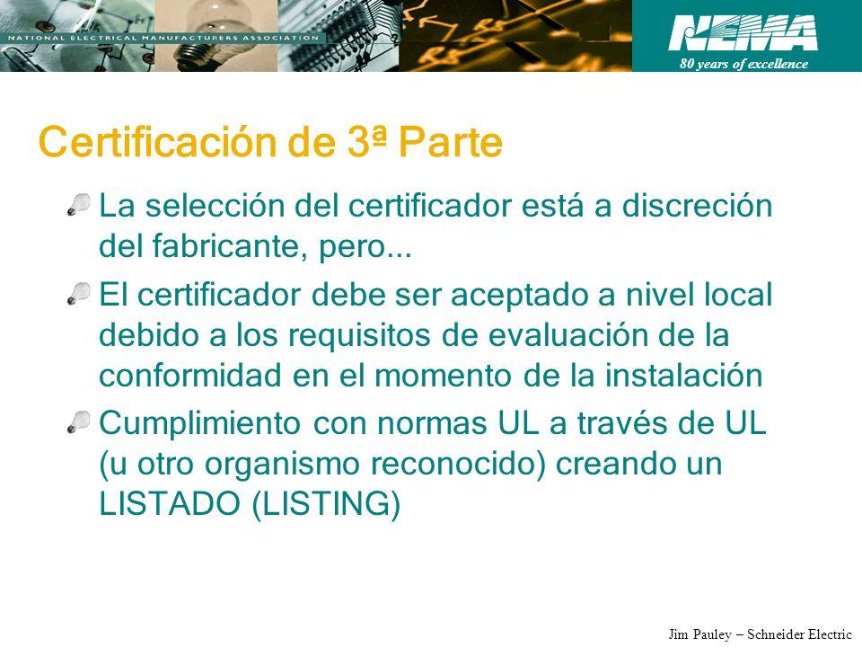 Certificación de 3ª Parte