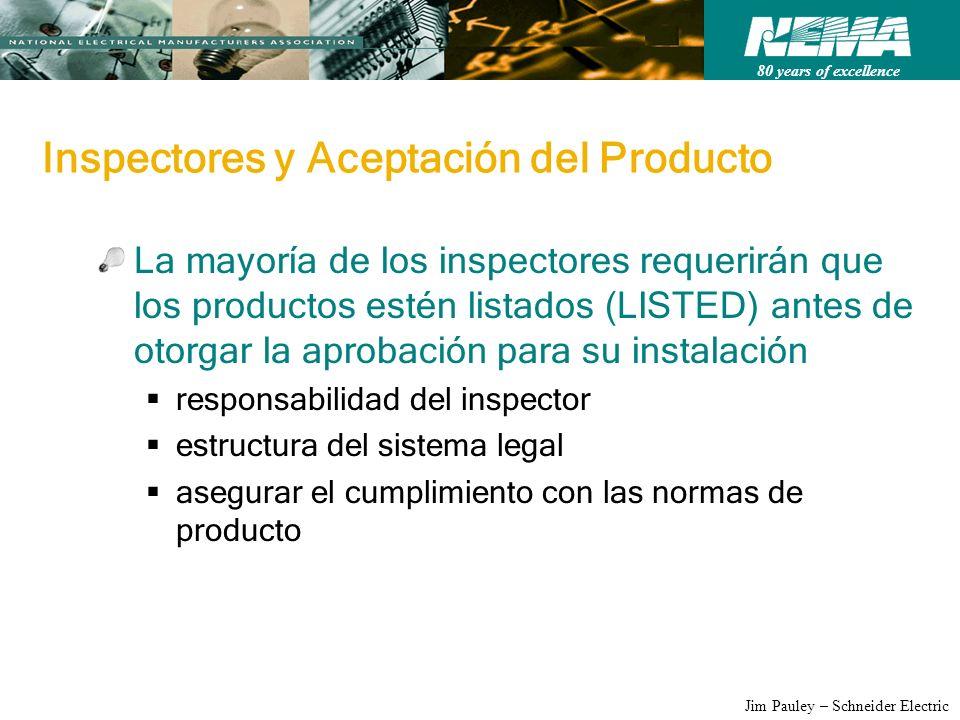 Inspectores y Aceptación del Producto