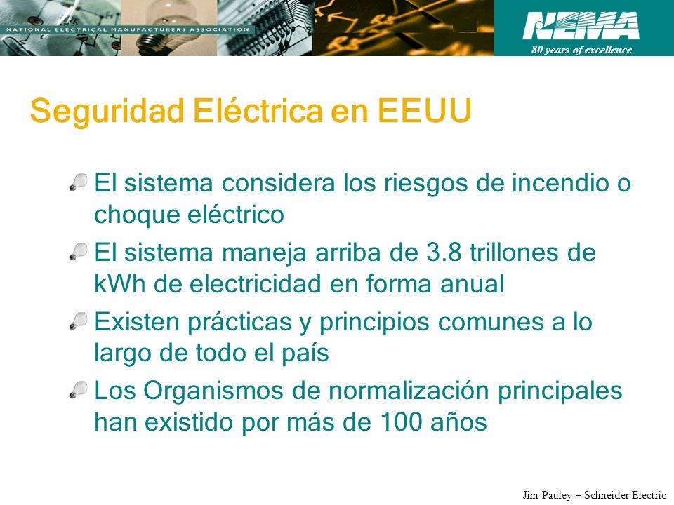 Seguridad Eléctrica en EEUU