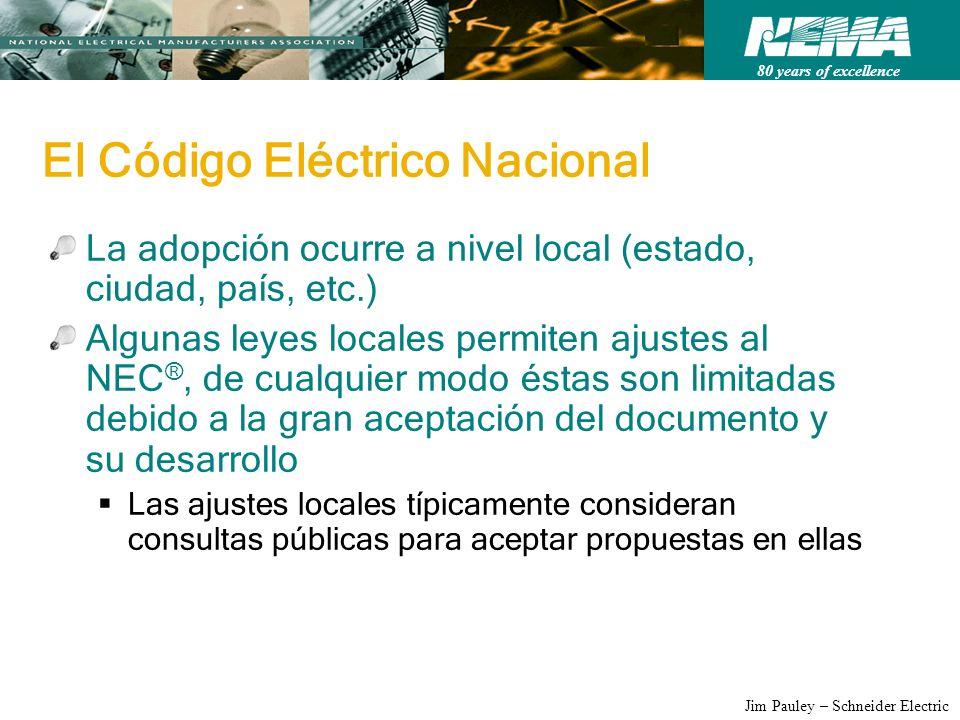 El Código Eléctrico Nacional