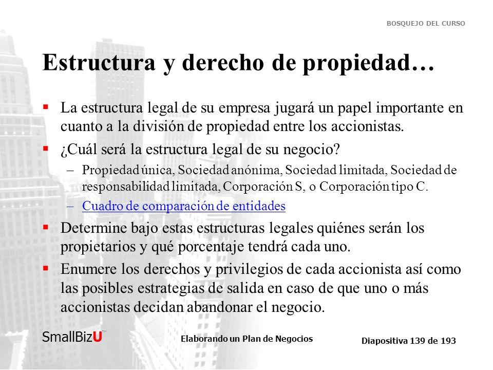 Estructura y derecho de propiedad…