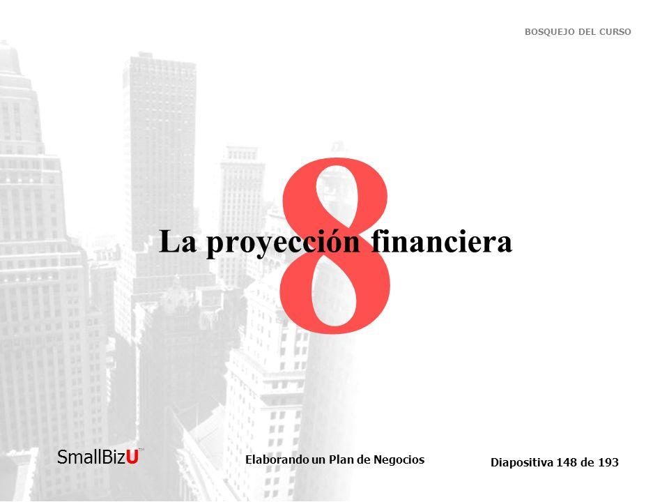 La proyección financiera