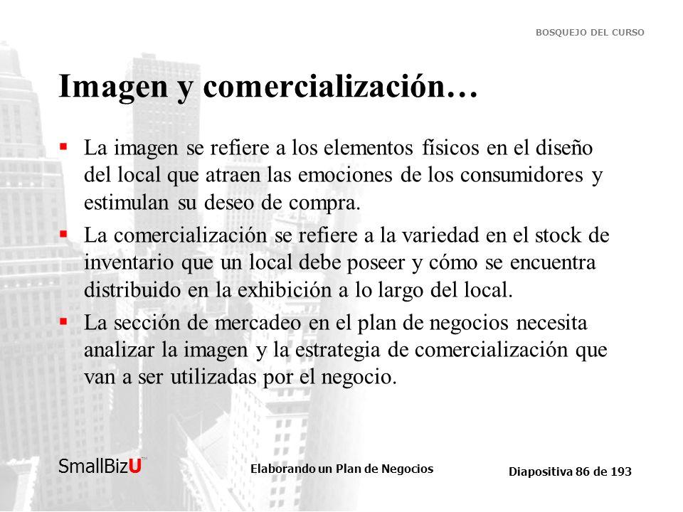 Imagen y comercialización…