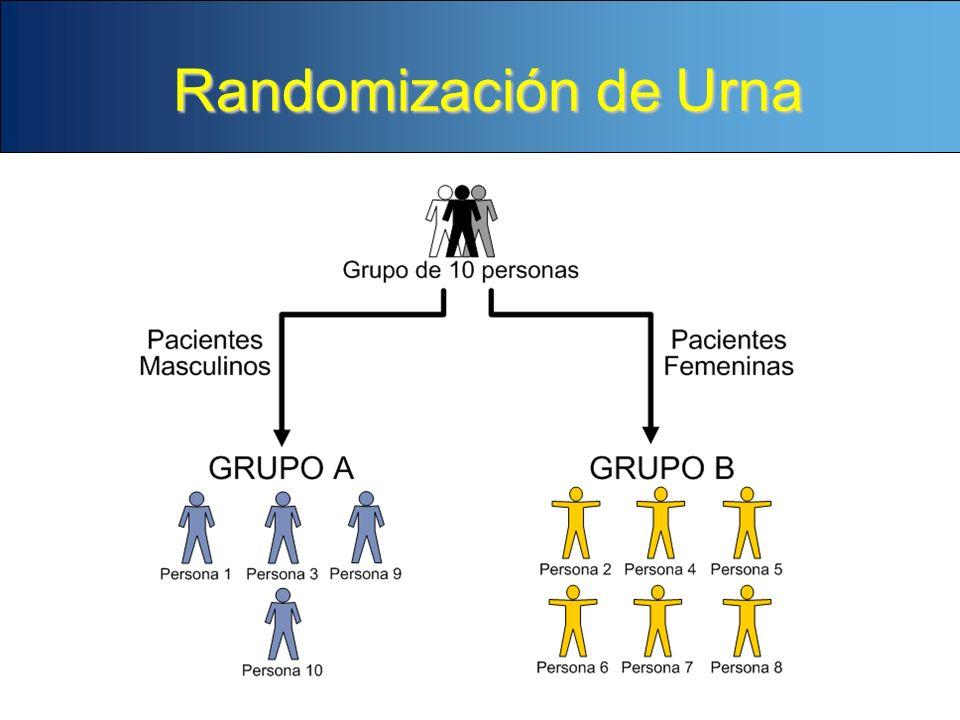 Randomización de Urna NARRADOR: