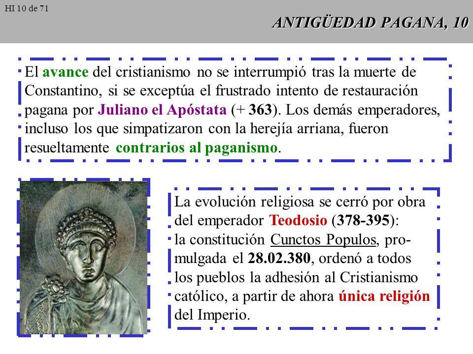 El avance del cristianismo no se interrumpió tras la muerte de