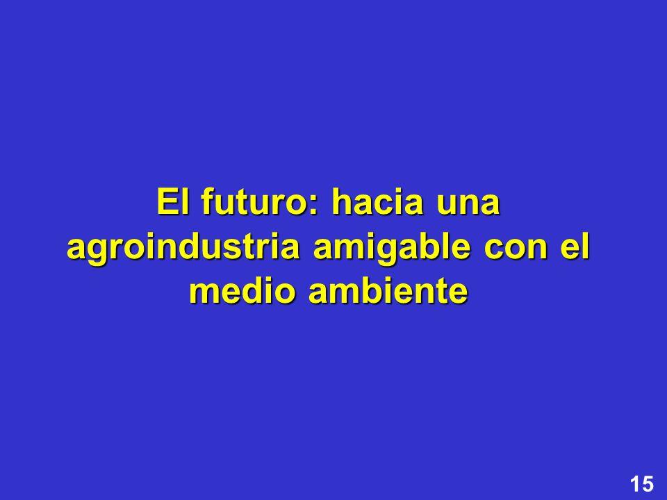El futuro: hacia una agroindustria amigable con el medio ambiente