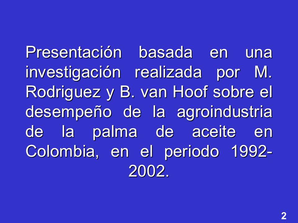 Presentación basada en una investigación realizada por M.
