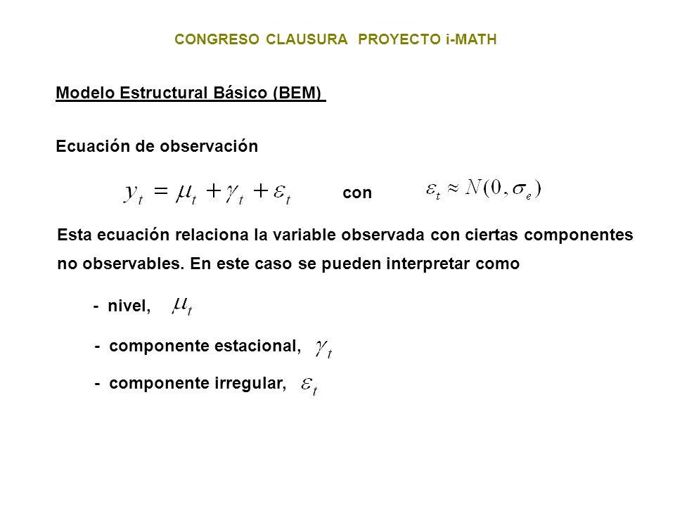 Modelo Estructural Básico (BEM)