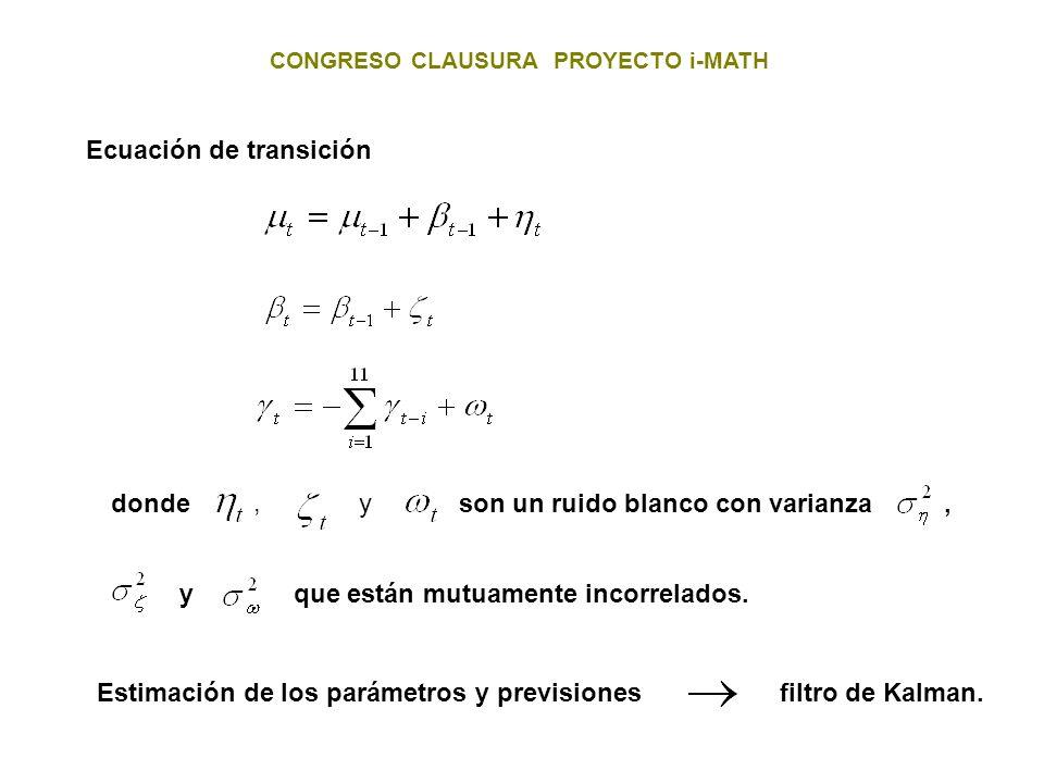 Ecuación de transición