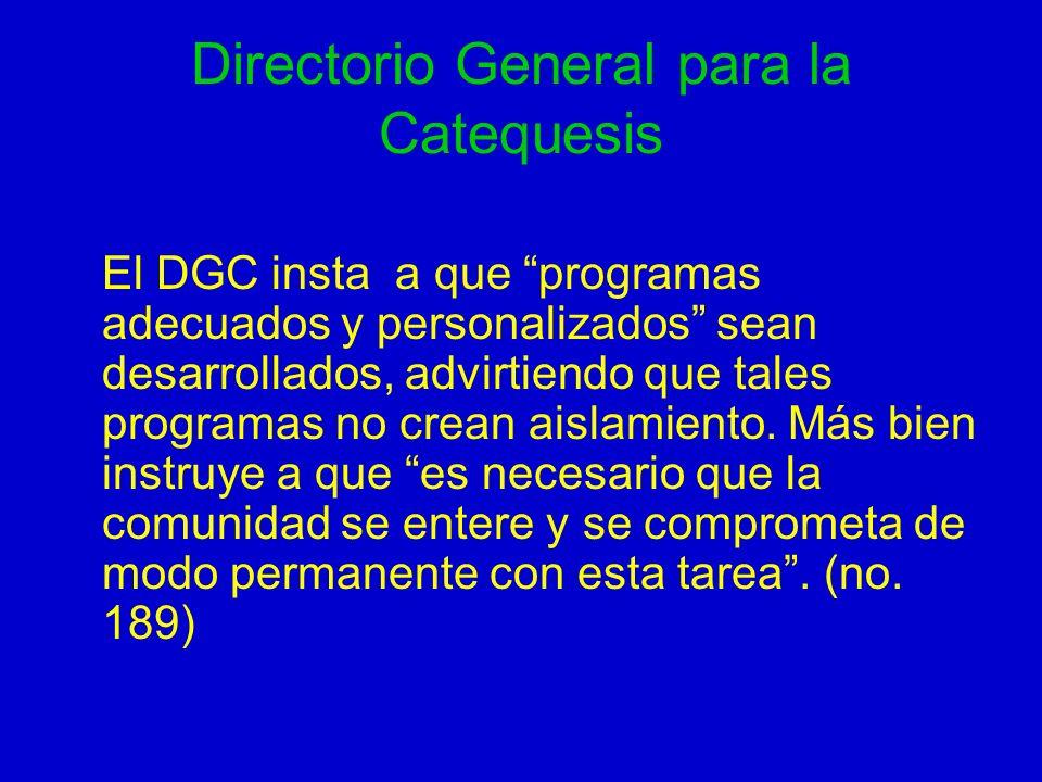 Directorio General para la Catequesis