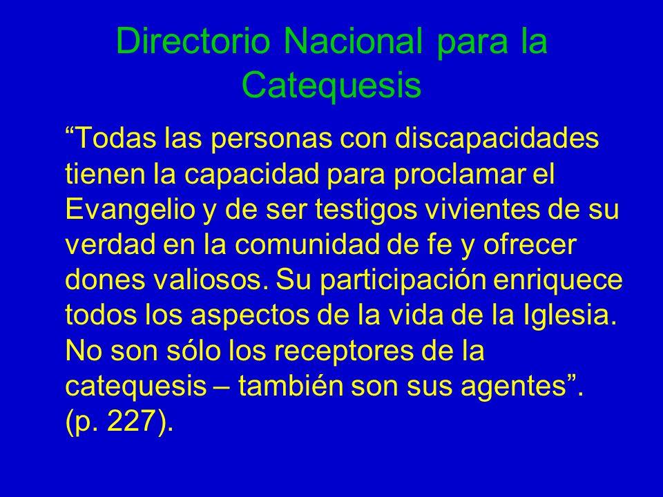Directorio Nacional para la Catequesis