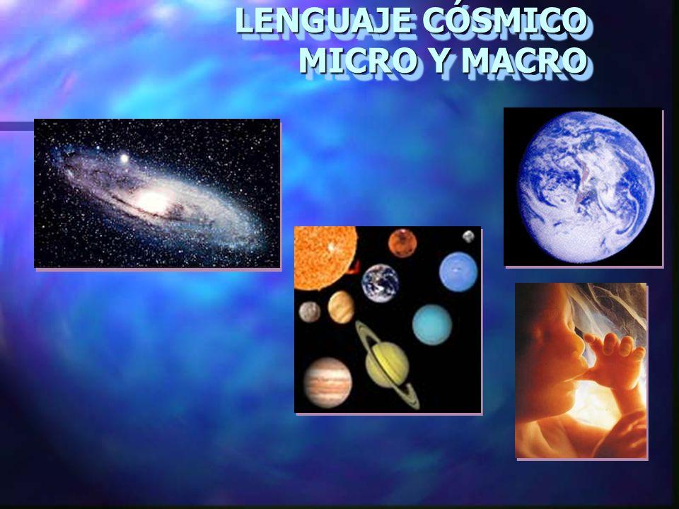 LENGUAJE CÓSMICO MICRO Y MACRO