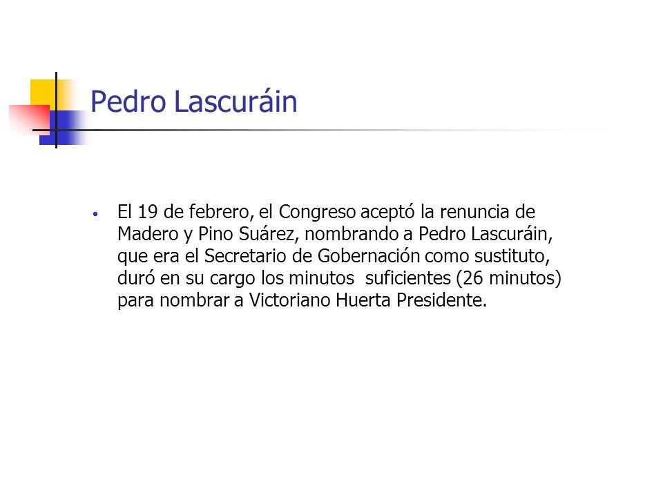 Pedro Lascuráin
