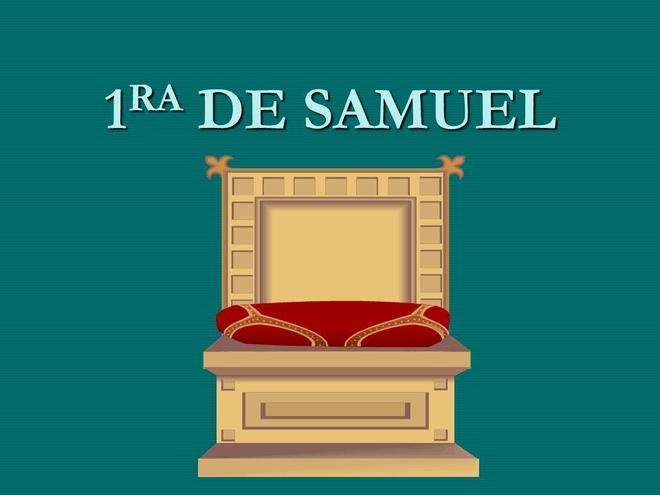 1RA DE SAMUEL