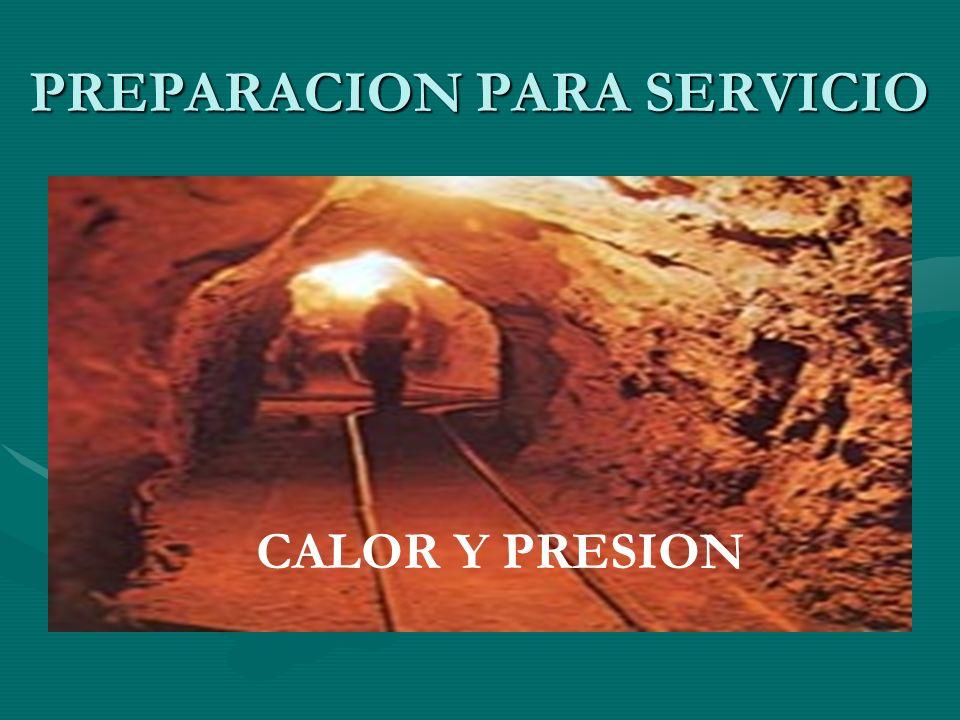 PREPARACION PARA SERVICIO