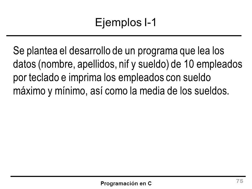 Ejemplos I-1