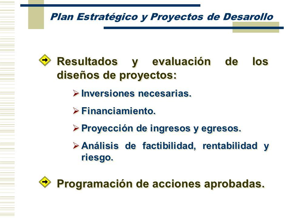 Plan Estratégico y Proyectos de Desarollo