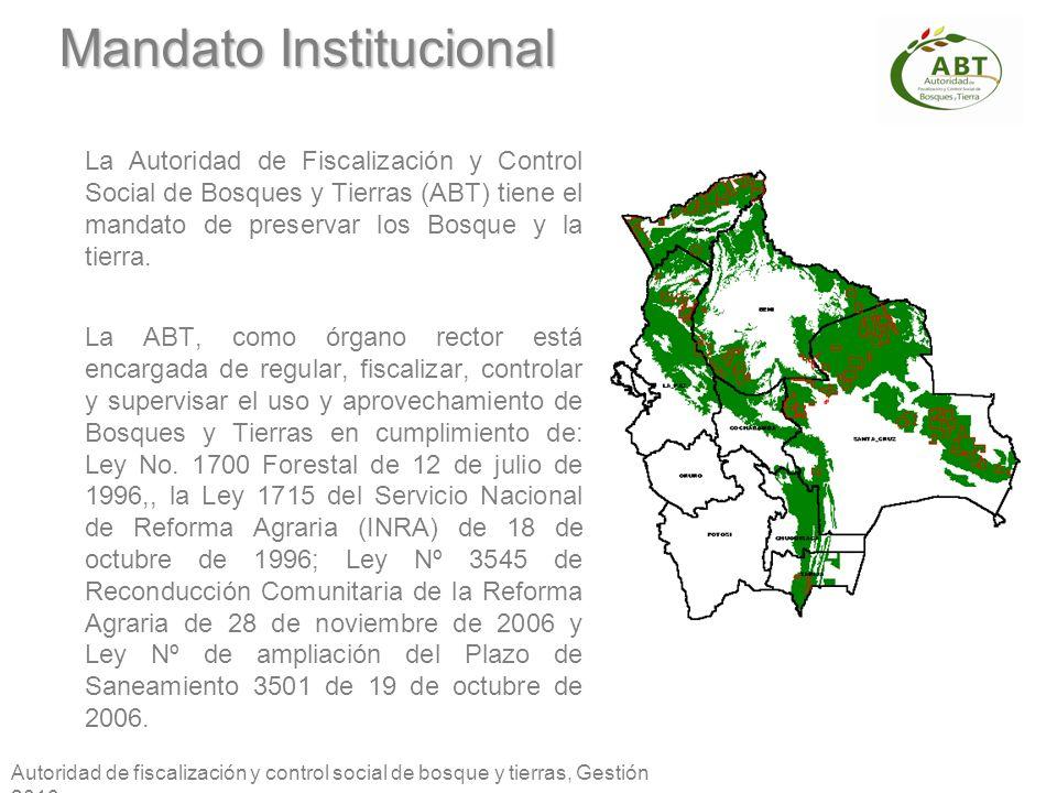 Mandato Institucional