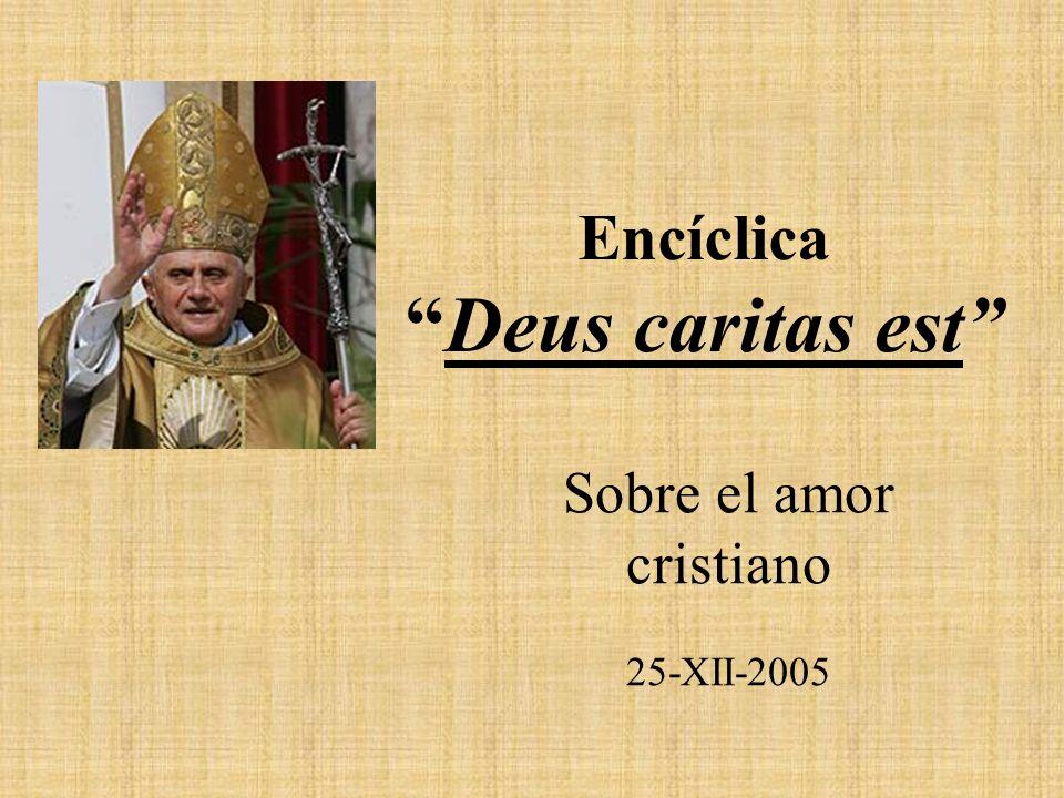 Encíclica Deus caritas est