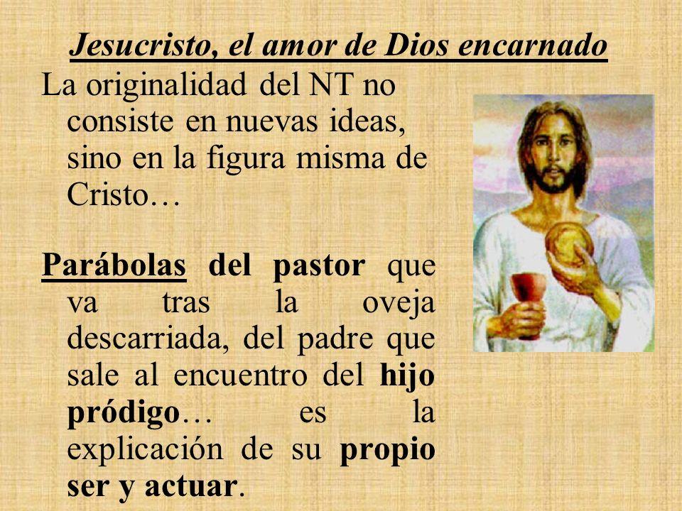 Jesucristo, el amor de Dios encarnado