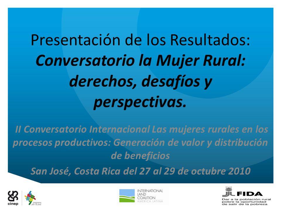 San José, Costa Rica del 27 al 29 de octubre 2010