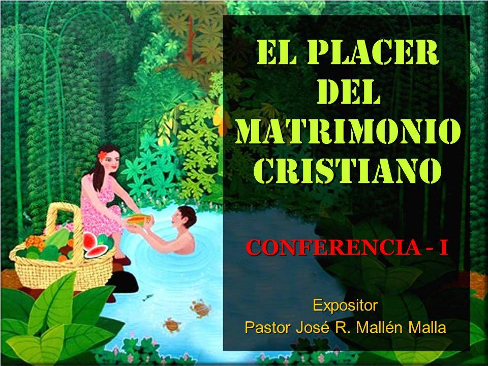 EL PLACER DEL MATRIMONIO CRISTIANO