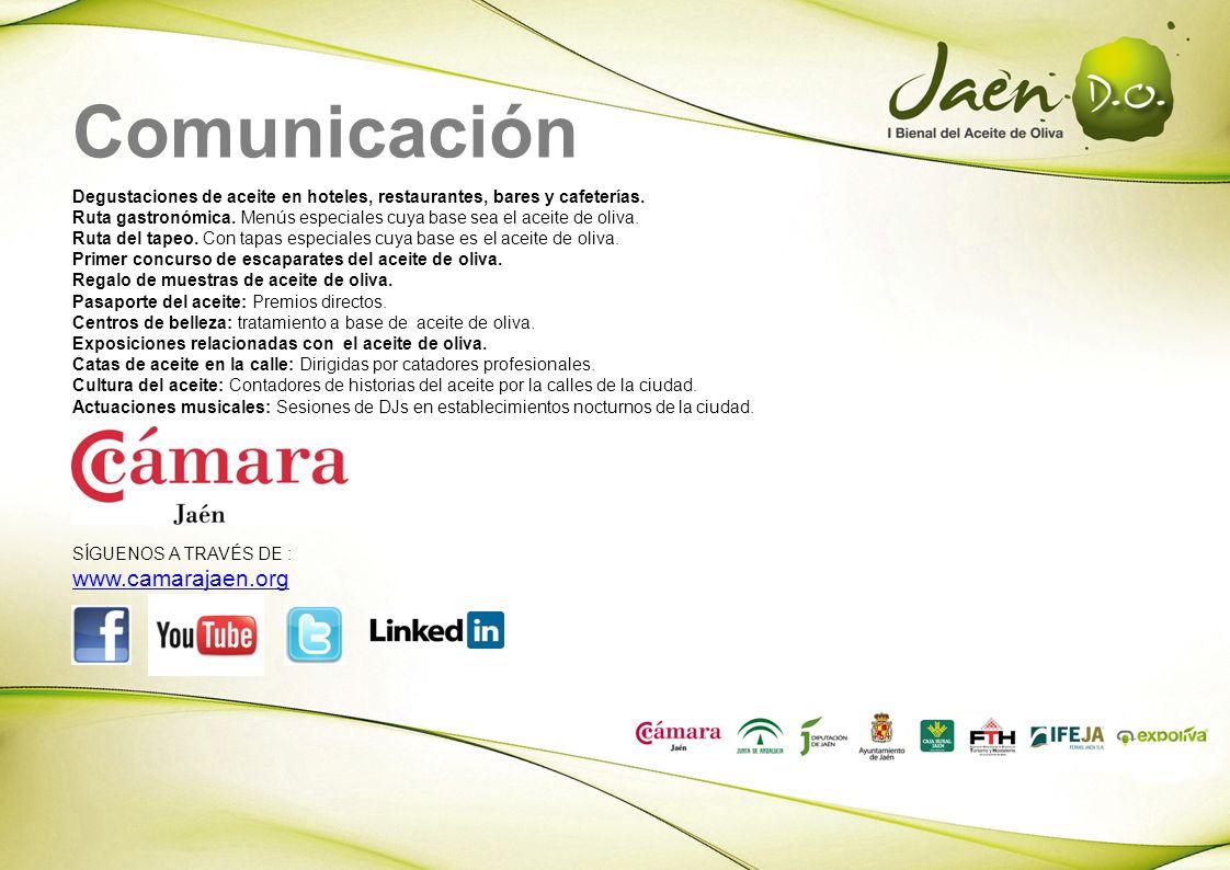 Comunicación www.camarajaen.org