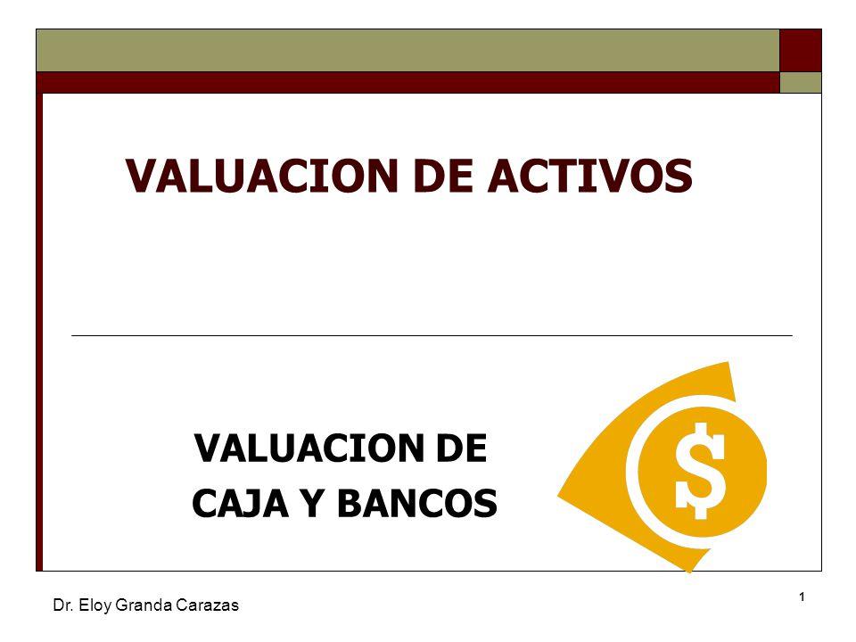 Valuacion de caja y bancos ppt video online descargar for Pisos de bancos y cajas