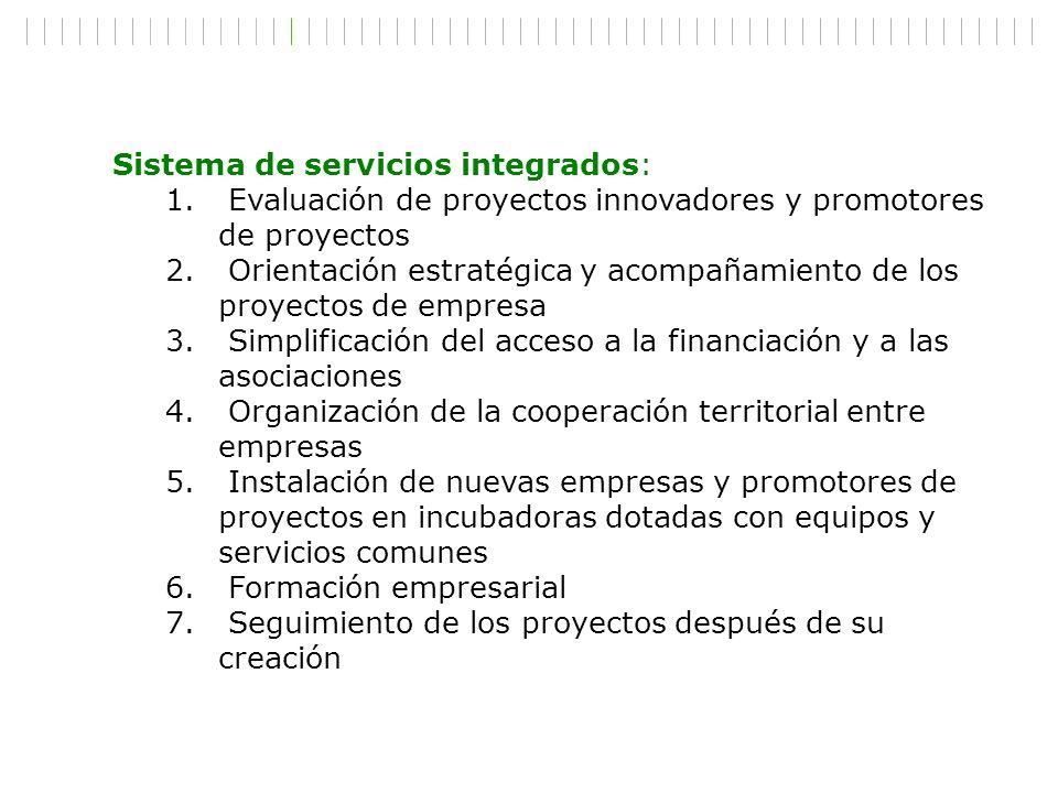 Sistema de servicios integrados: