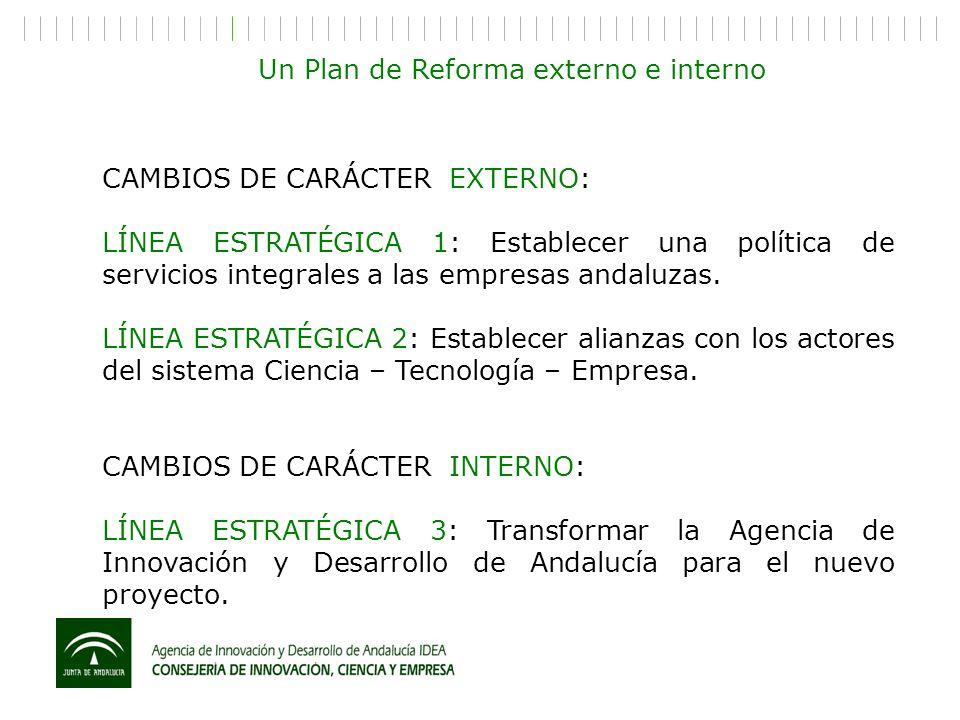 Un Plan de Reforma externo e interno