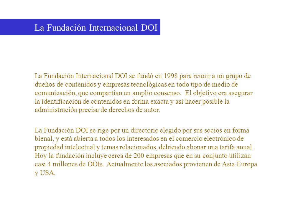 La Fundación Internacional DOI