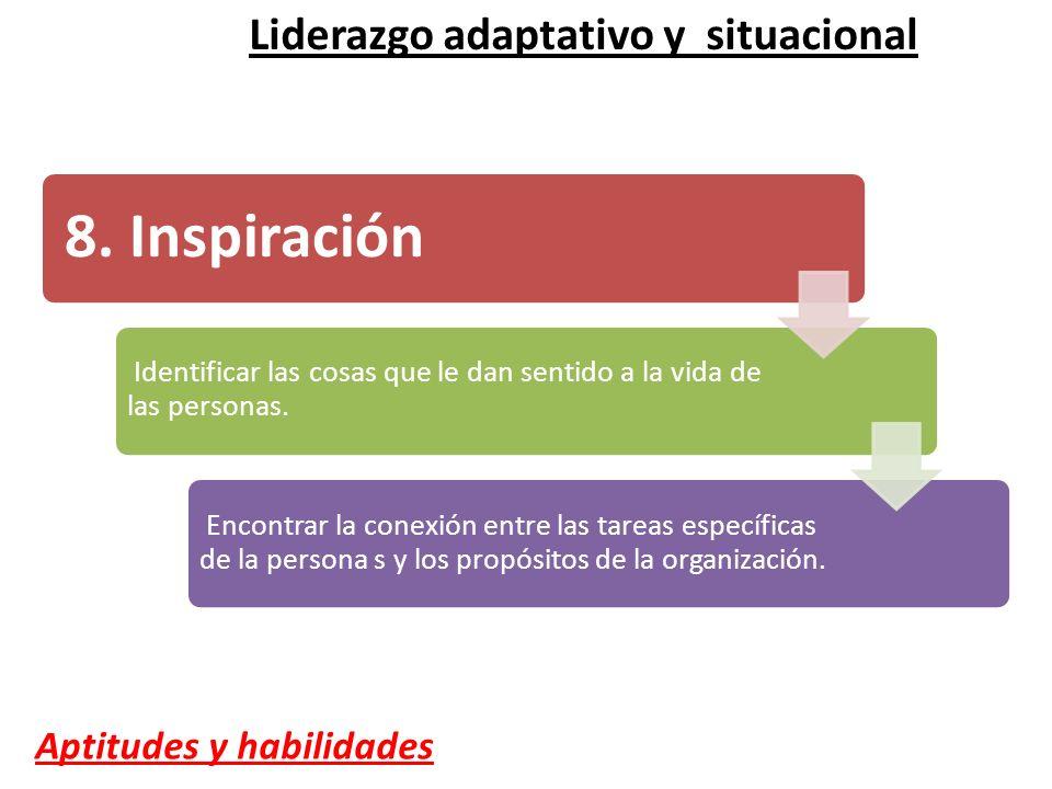 8. Inspiración Liderazgo adaptativo y situacional