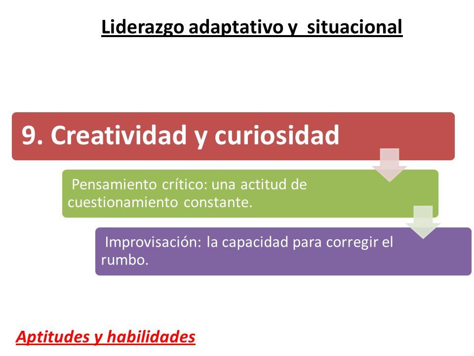 9. Creatividad y curiosidad