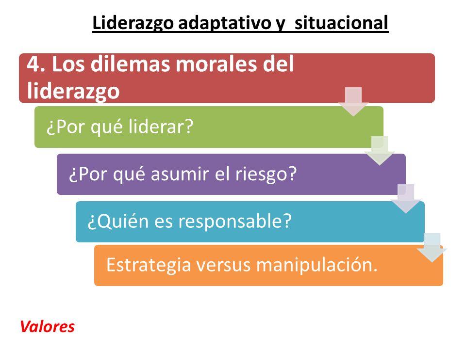 4. Los dilemas morales del liderazgo